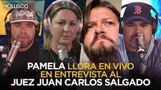 Pamela estalla en LLANTOS al escuchar juez defendiendo la decisión de la jueza en caso de Andréa