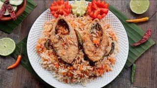 ইলিশ মাছের কাচ্চি বিরিয়ানি | ilish Kacchi Biriyani/ Biryani || ilish Recipe | Hilsa Fish Biriyani