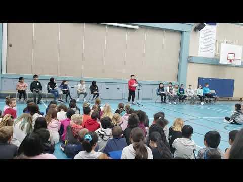 ??? Public Speech @Castle Park Elementary School. Feb.19th.2020.