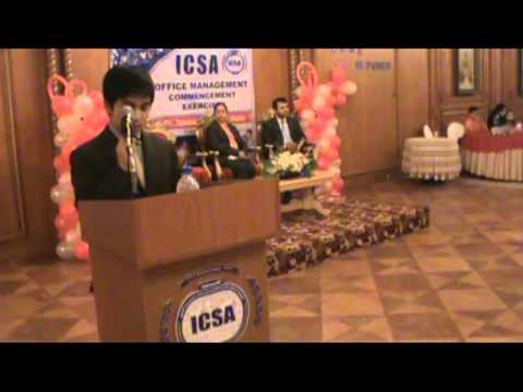 Message of ICSA Manager