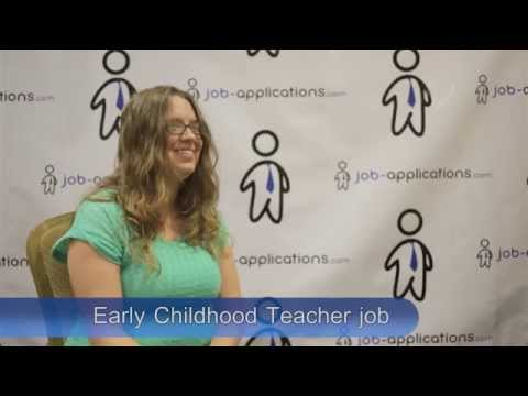 Early Childhood Teacher Interview
