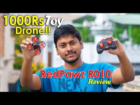 New 1000Rs Drone!! RedPawz R010 RC Quadcopter Review & Flight Test