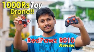 New 1000Rs Drone!! RedPawz R010 RC Quadcopter Unboxing & Review!