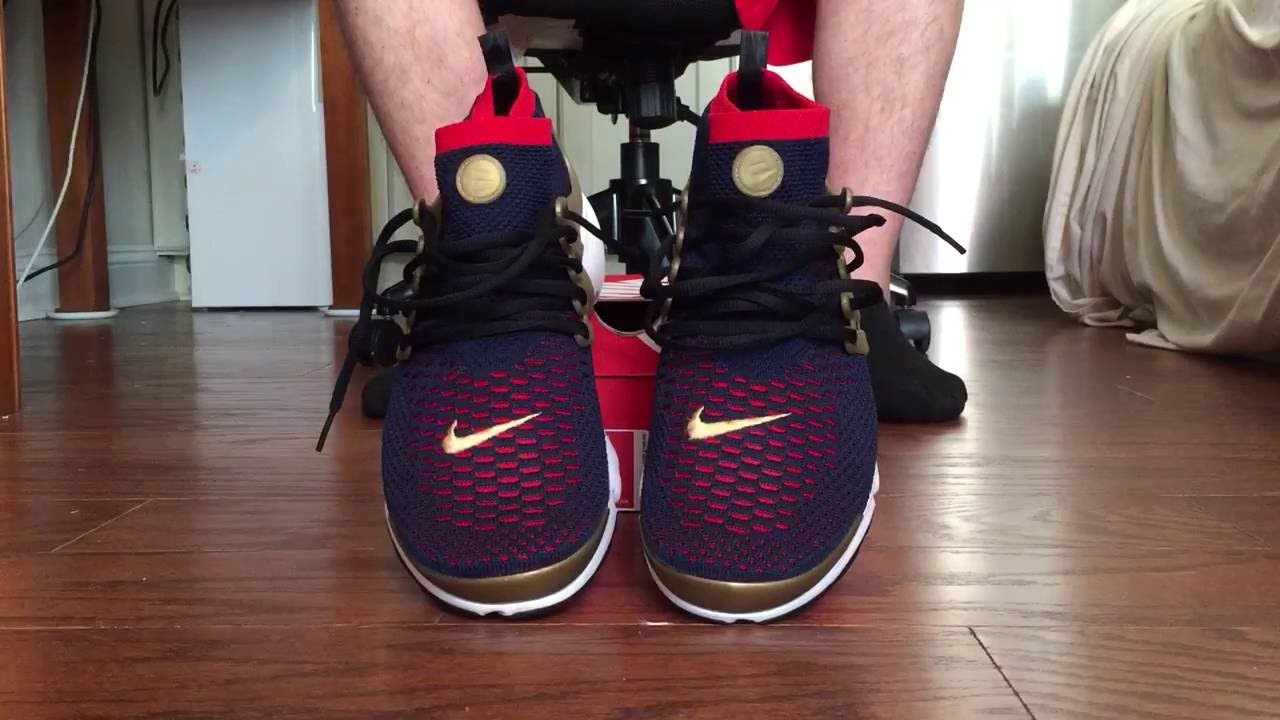 da82920a1bd84d Nike Air Presto FlyKnit Ultra USA on feet - YouTube
