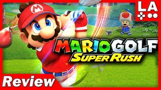 Mario Golf: Super Rush Review (Nintendo Switch) (Video Game Video Review)