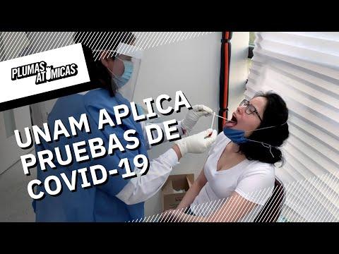 UNAM aplica prueba de Coronavirus