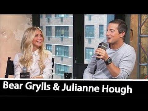 Bear Grylls & Julianne Hough (Interview) On 'RUNNING WILD WITH BEAR GRYLLS' | July 11, 201