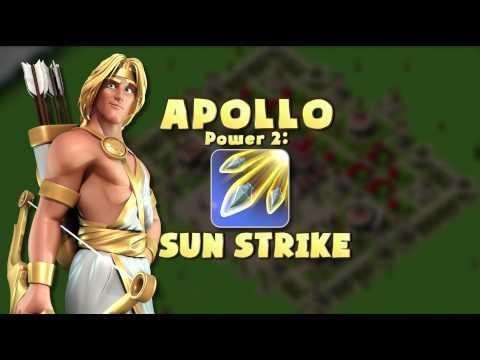 Gods of Olympus - Apollo Powers