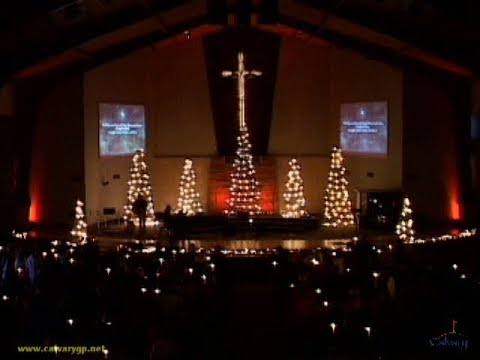 Candle Light Service at Calvary Baptist Church