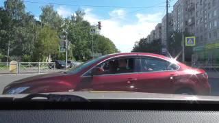 Поучительный урок автовождения.