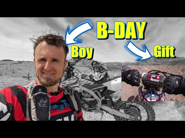 Birthday Ride, Birthday Gift, Birthday Giveaway - KemiMoto Motorcycle Gloves Review