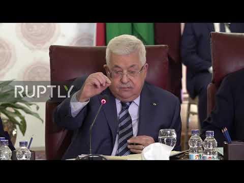 Egypt: Abbas Blasts Trump's Plan As Arab League Rejects