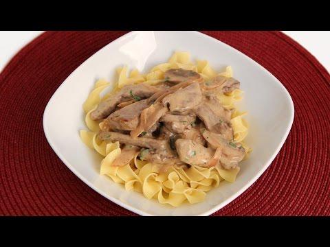 Beef Stroganoff Recipe - Laura Vitale - Laura in the Kitchen Episode 831