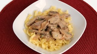 Beef Stroganoff Recipe - Laura Vitale - Laura In The Kitchen Episode 831