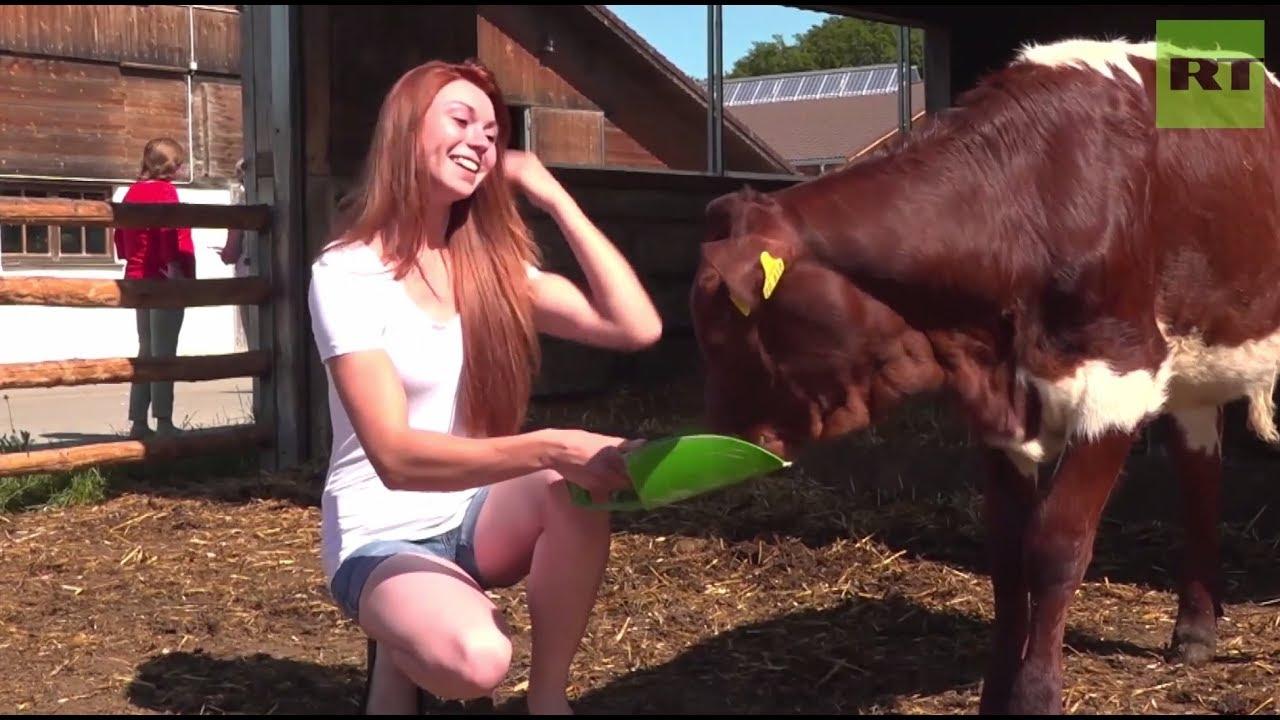 Bavarian models making farming sexy again