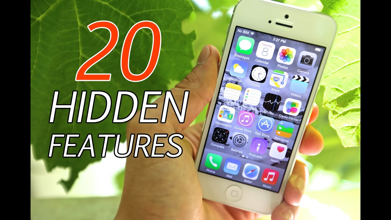 20 Hidden Features In iOS 8 - Secrets You Didn't Know!