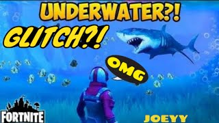 How to go underwater in loot lake-Fortnite Glitch