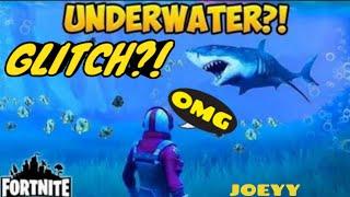 Comment aller sous l'eau dans le butin lac-Fortnite Glitch