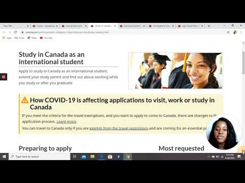 LEARN HOW TO USE THE CANADIAN GOVERNMENT WEBSITE EASILY..( PROCESS YOUR VISA YOURSELF)