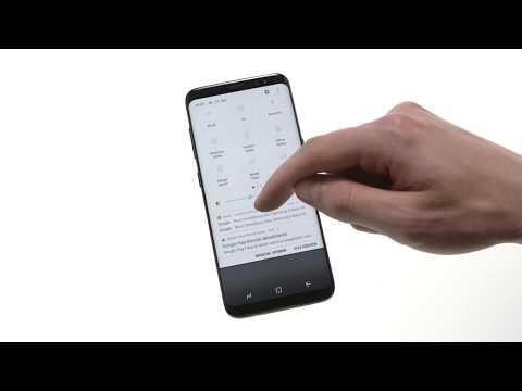 Samsung Galaxy S8: Statusleiste Und Schnellzugriffe