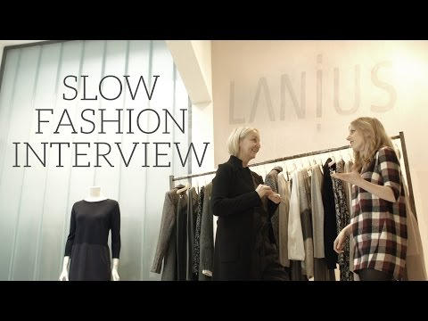 Inside an Eco Fashion Brand | Interview with Designer Claudia Lanius