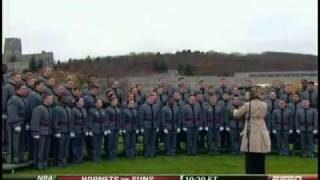 West Point Glee Club: The Army Goes Rolling Along, Veteran's Day, November 11, 2009 (ESPN)