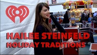 Hailee Steinfeld Sings Her New Holiday Song | Exclusive Interview