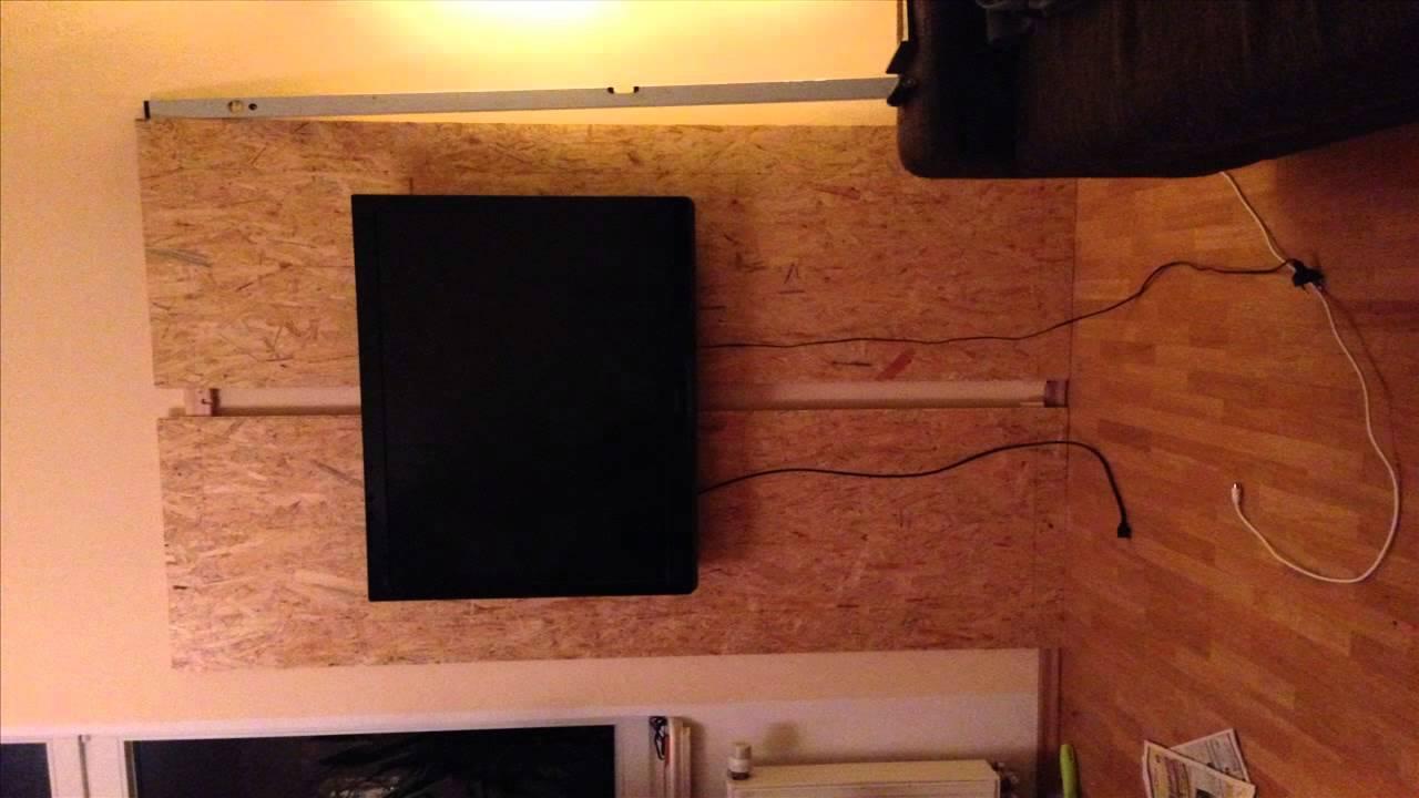 Cinewall selber bauen  TV Wand selber bauen (1080p) HD - YouTube