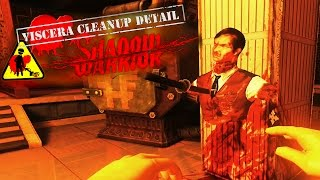 ONE MAN, ONE MOP, ONE TEMPLE | Viscera Cleanup Detail: Shadow Warrior