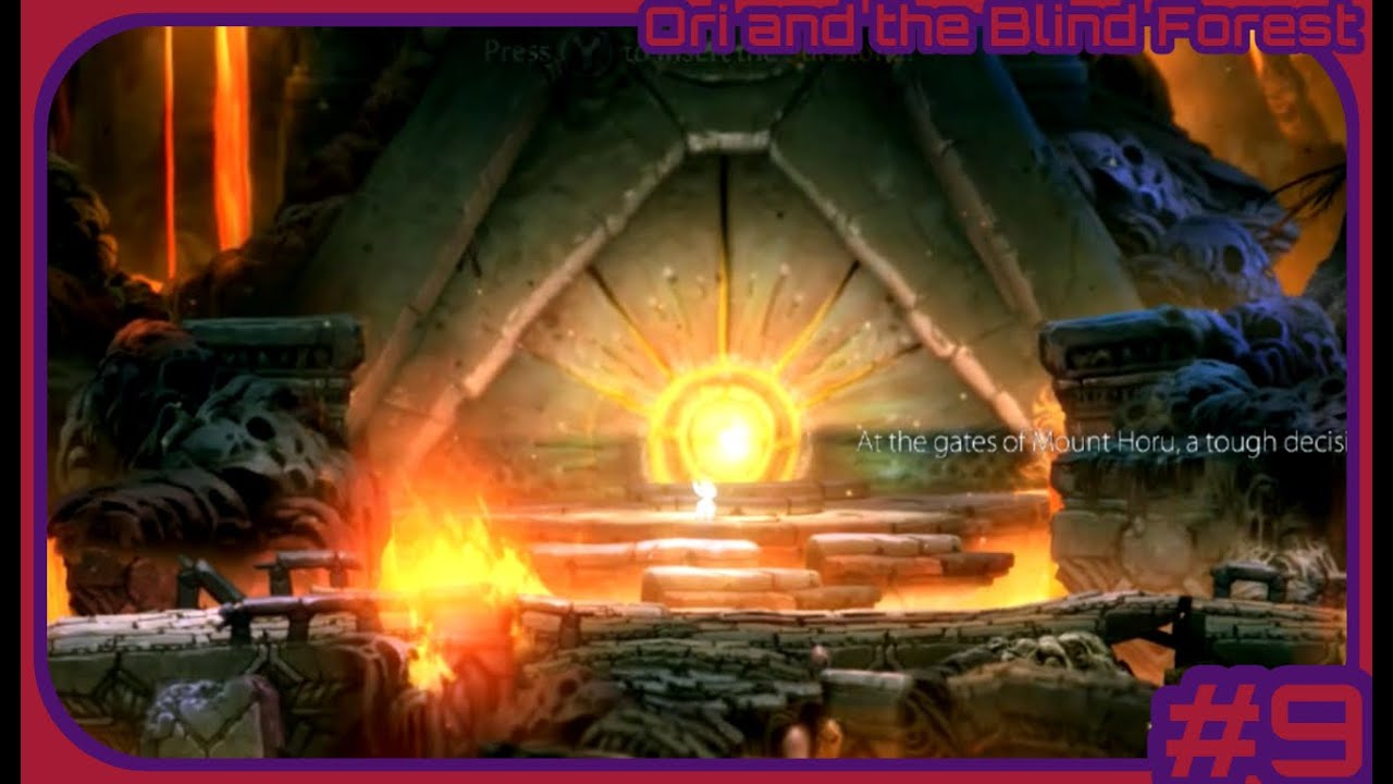 Ori and the Blind Forest (Part 9) Out of the Frying Pan....