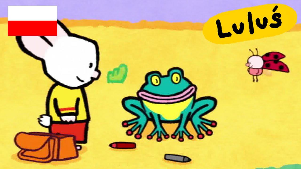 Luluś - Narysuj mi żabę S01E27 HD // Kreskówki dla dzieci
