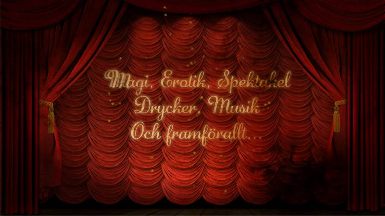 Moulin Rouge Party Invitation - YouTube