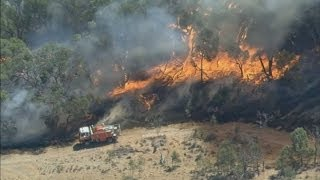 Australian bushfires across the states of Victoria & New South Wales continue to spread
