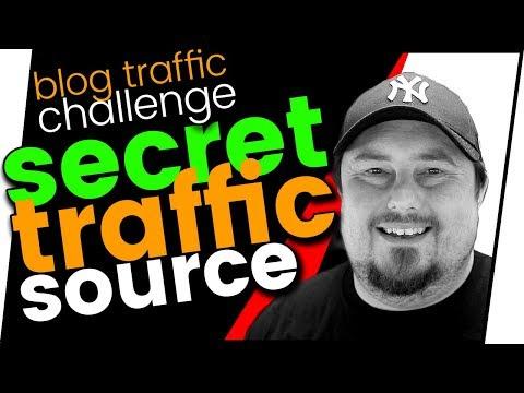 Blog traffic challenge: Top secret web traffic source