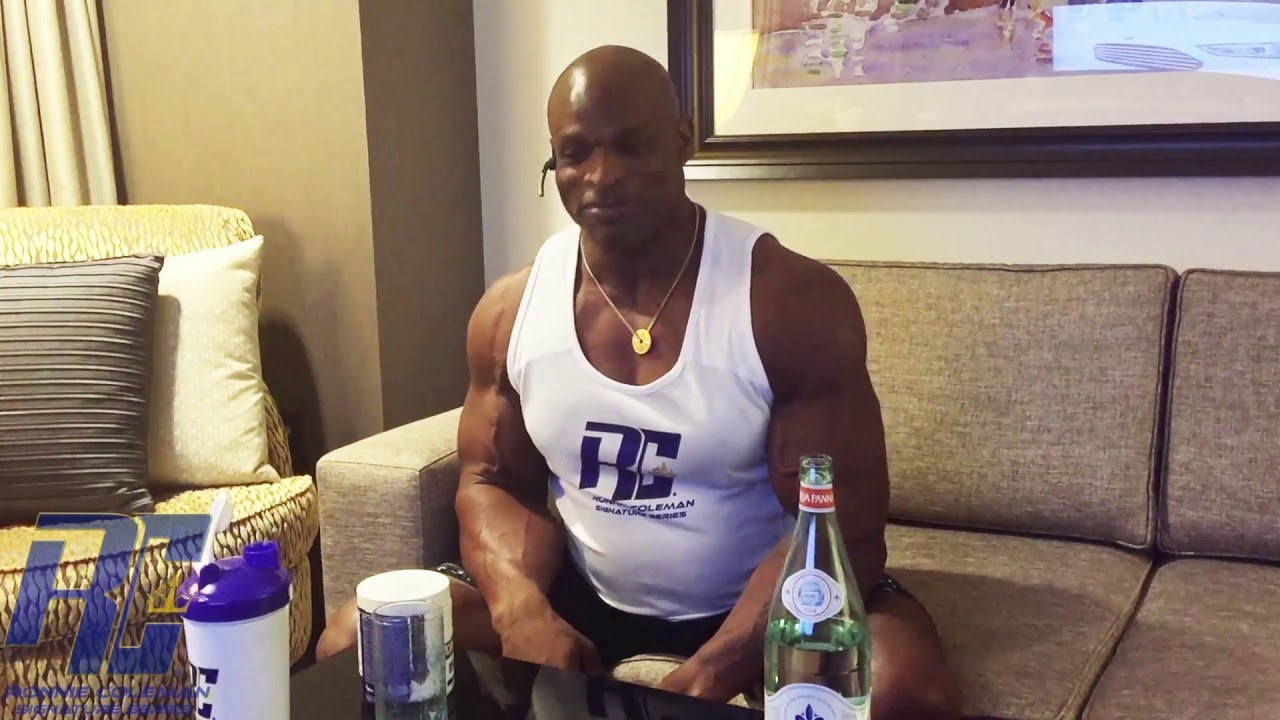Announcement from Ronnie Coleman at Arnold Classic 2016 | YEAH BUDDY ...