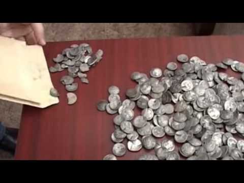 Treasure Trove of Oldest Silver Counterfeit Coins EVER Found