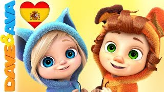 🙌 Canciones Infantiles  | Videos Para Bebés | Música Infantil De Dave Y Ava 🙌
