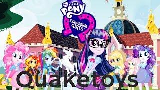 New Equestria Girls Friendship Games My Little Pony App Long Version Scan Flash Sentry & Twilight