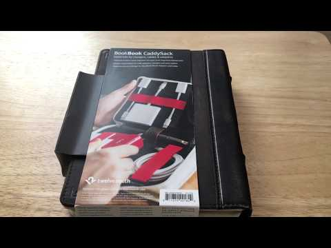 Twelve South Book Book CaddyShack Cord & Charger Case Unboxing 10-20-17