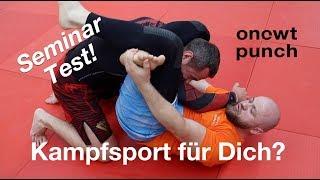 Kampfsport Seminar für dich? Hwarang Mudo, Jiu Jitsu, Capoeira! One Two Punch Test ist der Beste!