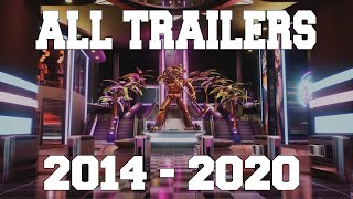 All FNAF Trailers 2014 - 2020 FNAF 1 to FNAF 9 SECURITY BREACH
