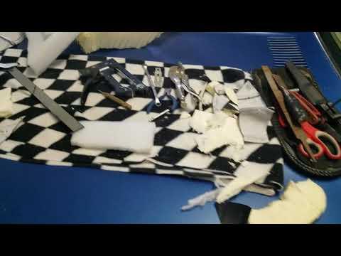 DIY pillion pad 1995 Kawasaki Vulcan vn800