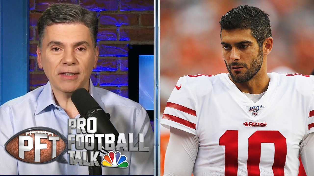 Is Jimmy Garoppolo's ugly preseason debut concerning? | Pro Football Talk | NBC Sports