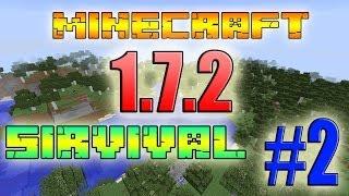 Minecraft 1.7.2 Выживание #2-Строительство Домов