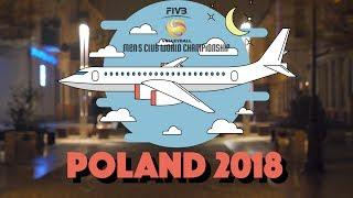 Привет, Польша! Зенит-Казань отправился на Клубный Чемпионат Мира 2018! #FIVBMenCWCH