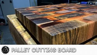 Repeat youtube video Pallet End Grain Cutting Board - Pallet Challenge 2016