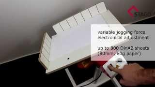 STAGO PR 4 / PR 3 / PR 43S - automatic paper joggers
