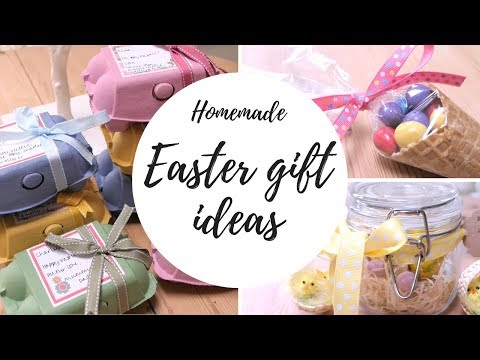 HOMEMADE EASTER GIFT IDEAS // BLOSSOM & BE