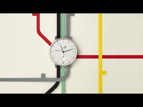 NOMOS Glashütte's Metro Highlights New In-House Movement