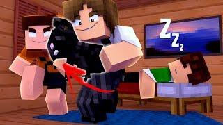Minecraft ÉPICO 💚 : FUI TROLLADO PELOS MEUS AMIGOS !! (DEU RUIM)
